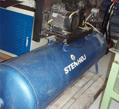 Rask Stenhøj kompressor - AD Maskiner WJ-17